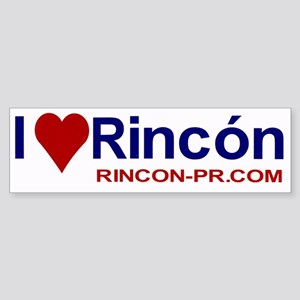 I Love Rincon Sticker
