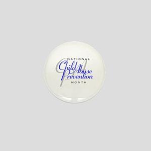 Child Abuse Prevention Mini Button