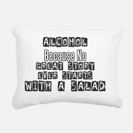 Funny Alcohol Rectangular Canvas Pillow