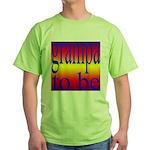 108b. grampa to be [rainbow] Green T-Shirt