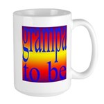 108b. grampa to be [rainbow] Large Mug