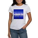 108b.grampa to be [blue on bl Women's T-Shirt