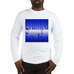 108b.grampa to be [blue on bl Long Sleeve T-Shirt