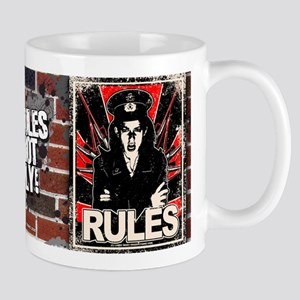 RULES 1 Distressed Mug
