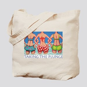 Taking the Plunge - Beach Tote Bag