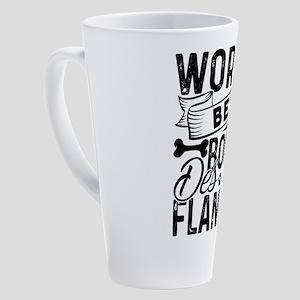 Bouvier des Flandres 17 oz Latte Mug