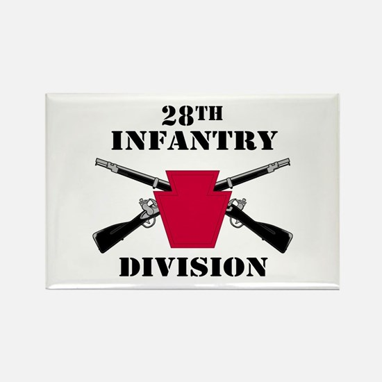28th Infantry Division (1) Rectangle Magnet