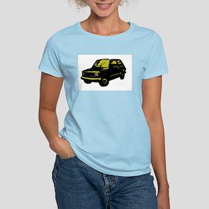 Italian car! Women's Pink T-Shirt