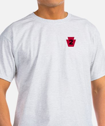 2-Sided 2nd BCT 28th Inf (1) T-Shirt