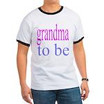 109b. grandma to be [ pink/ b Ringer T
