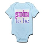 109b. grandma to be [ pink/ b Infant Creeper