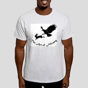 Art of Falconry - Redtail hawk Ash Grey T-Shirt