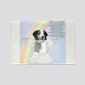 Brittany Rainbow Rectangle Magnet
