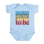 109b. grandma to be [black on Infant Creeper