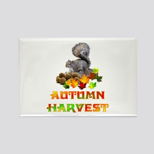 Autumn Rectangle Magnet