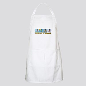 Addicted to running (woman) BBQ Apron