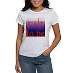 108b. grandpa to be [red on b Women's T-Shirt