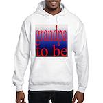 108b. grandpa to be [red on b Hooded Sweatshirt