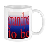 108b. grandpa to be [red on b Mug