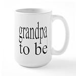 108b. grandpa to be [ bw] Large Mug