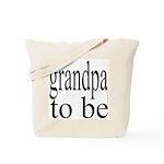 108b. grandpa to be [ bw] Tote Bag