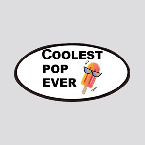 Coolest Pop Ever Funny Father's Day Patch