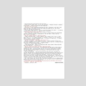 Hacker's Manifesto Rectangle Sticker