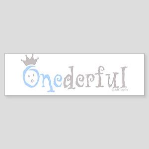 Onederful Sticker (Bumper)