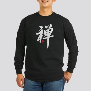 """""""Zen"""" Long Sleeve Dark T-Shirt"""