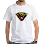 Cleveland Police White T-Shirt