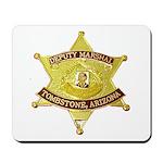 Tombstone Marshal Mousepad