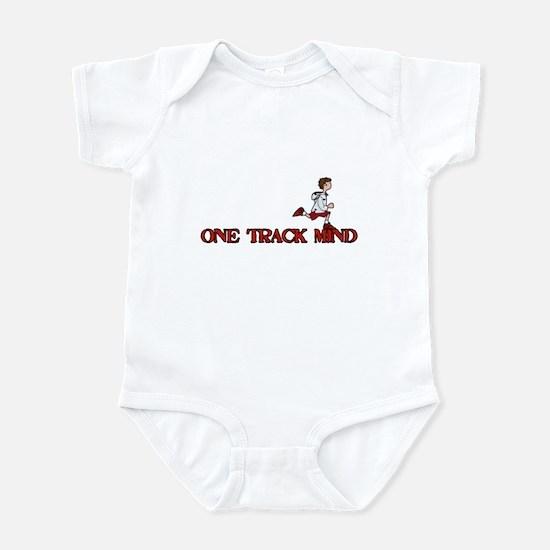One track mind Infant Bodysuit