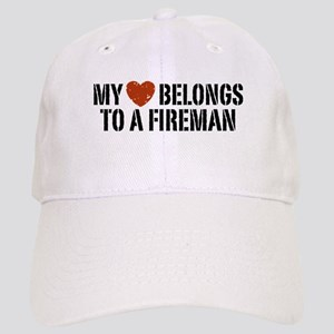 My Heart Belongs to a Fireman Cap