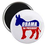Obama Democrat Donkey Magnet