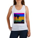 Beach Campground Women's Tank Top