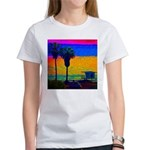 Beach Campground Women's T-Shirt