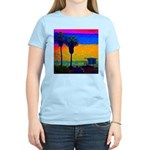 Beach Campground Women's Light T-Shirt