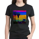 Beach Campground Women's Dark T-Shirt