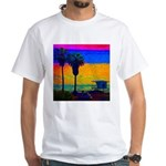 Beach Campground White T-Shirt