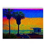Beach Campground Wall Calendar