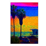 Beach Campground Postcards (Package of 8)