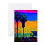 Beach Campground Greeting Card