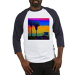Beach Campground Baseball Jersey