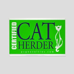 Cat Herder 2 Green web  Magnets