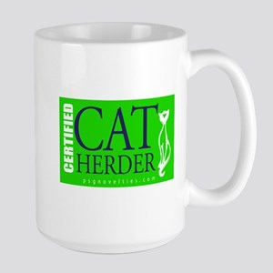 Cat Herder 2 Green web  Mugs