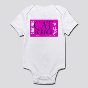 Cat Herder 2 Fusia web  Body Suit