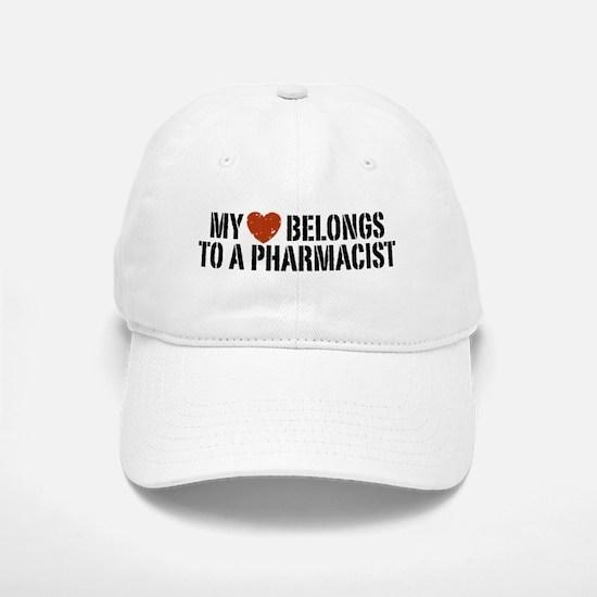My Heart Belongs to a Pharmacist Baseball Baseball Cap