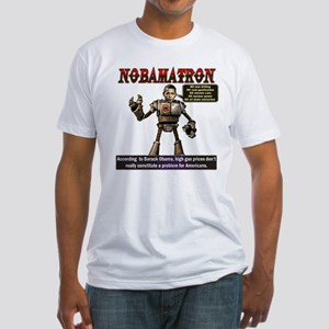 OBAMATRON Fitted T-Shirt