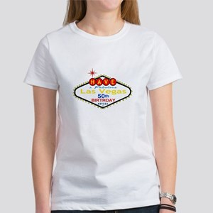 50th Birthday Women's T-Shirt Sample 2 Kristin