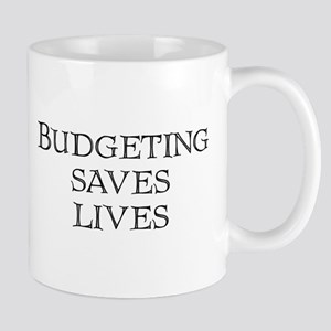 Budgeting saves lives Mug